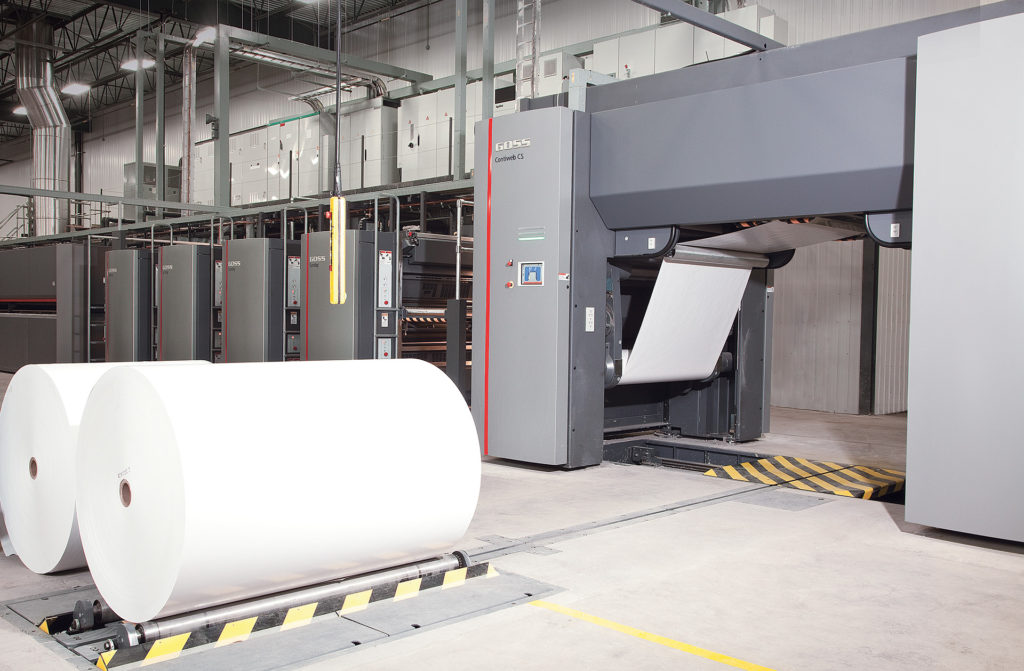 FL Web Printing starts its first production