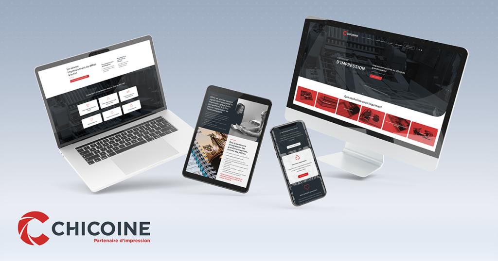 Découvrez le nouveau site du Groupe Chicoine