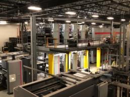 L' Imprimerie FL Web du Groupe Chicoine investi 11 millions de devoir dans un presse Goss Sunday 3000